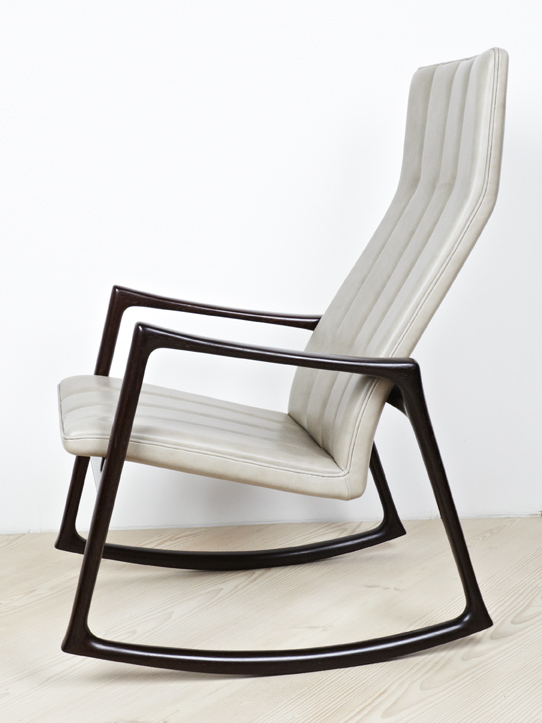 Jensen 1961 Rocking Chair in Wenge