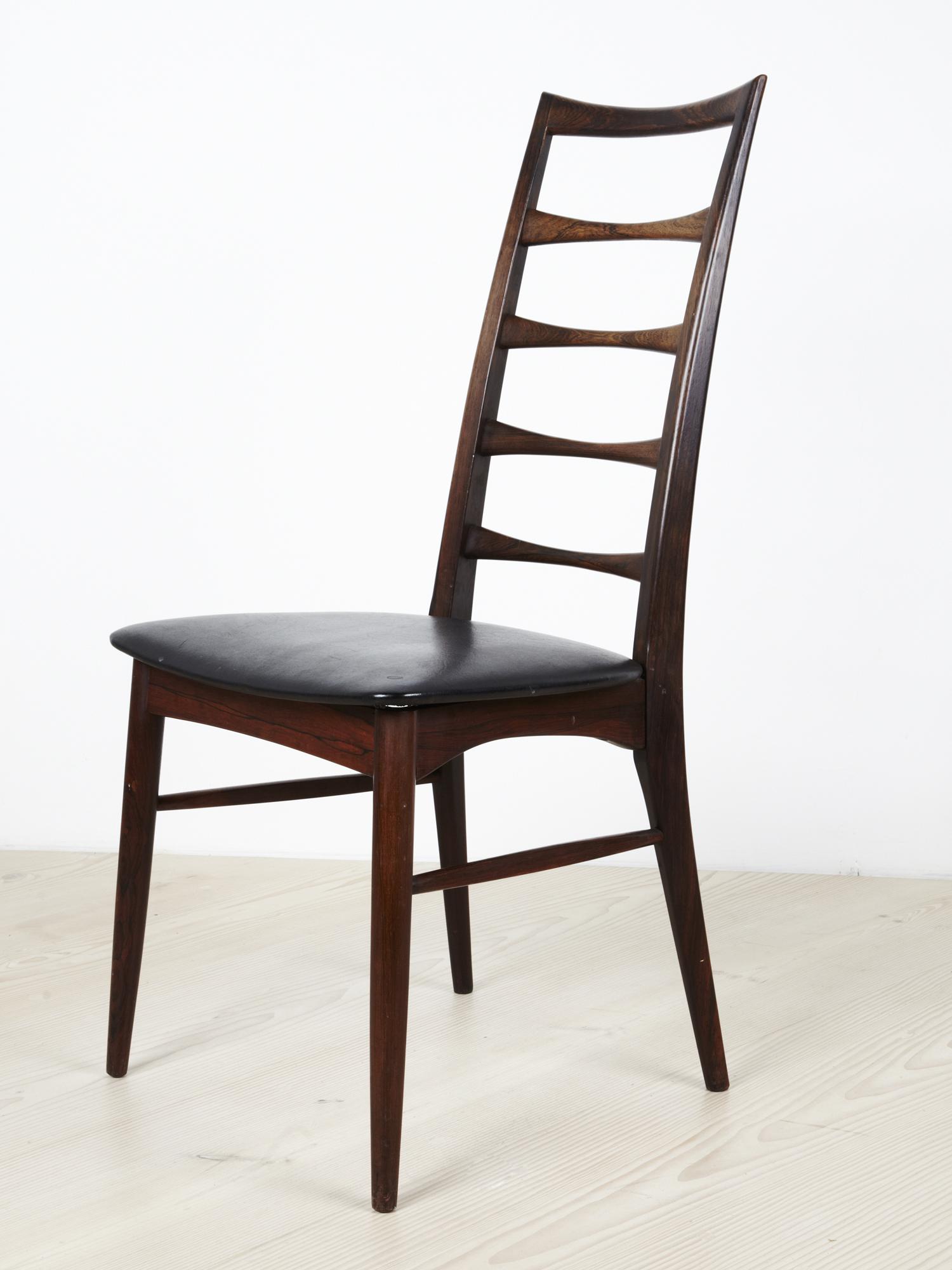 N Kofoed 1964 Ladderback Dining Chair   • made 1964-69    •