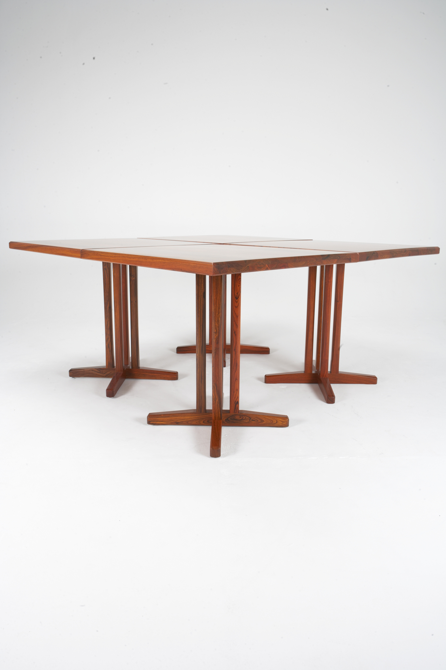 PD 70 Dining Table Set of 3 in Rosewood (in stock)
