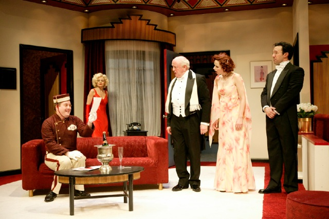 Lend Me A Tenor by Ken Ludwig pictured with Alison Fraser, Peter Maloney, Garrett Long and Romain Frugé George Street Playhouse, 2005