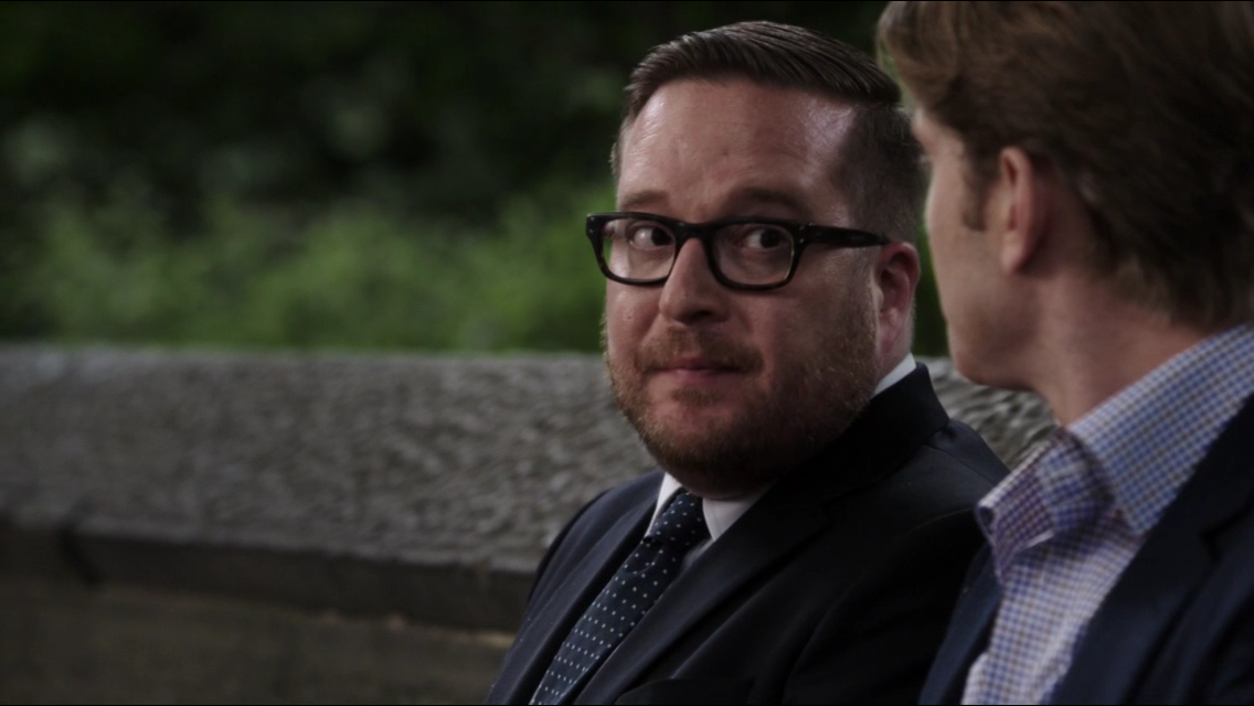 Person of Interest Episode 3.07: The Perfect Mark pictured with Aaron Staton (CBS, 2013)