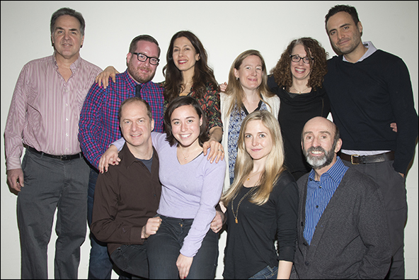Cast and creatives of Stage Kiss