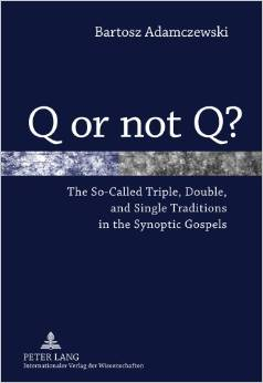 The study analyses the current state of research on the synoptic problem and proves that the Synoptic Gospels were written in the Mark, Luke, Matthew order of direct literary dependence. Moreover, the work demonstrates that the Synoptic Gospels are results of systematic, sequential, hypertextual reworking of the contents of the Pauline letters. Accordingly, the so-called 'Q source' turns out to be an invention of nineteenth-century scholars with their Romantic hermeneutic presuppositions. Demonstration of the fact that the Gospels are not records of the activity of the historical Jesus but that they narratively illustrate the identity of Christ as it has been revealed in the person and life of Paul the Apostle will certainly have major consequences for the whole Christian theology.