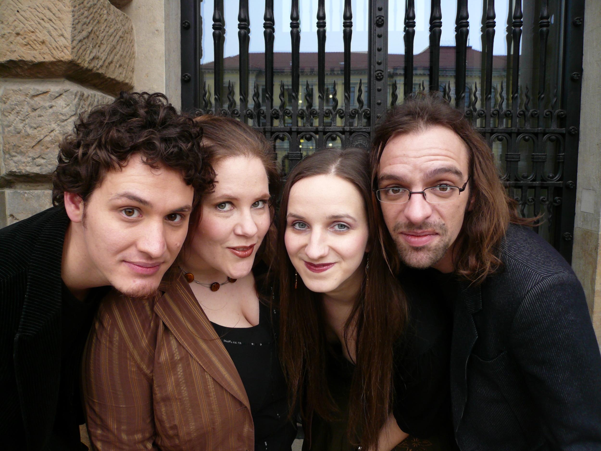 Klangbezirk (Juan Garcia, B.B., Tanja Pannier und Matthias Knoche), Leipzig, Mai 2008