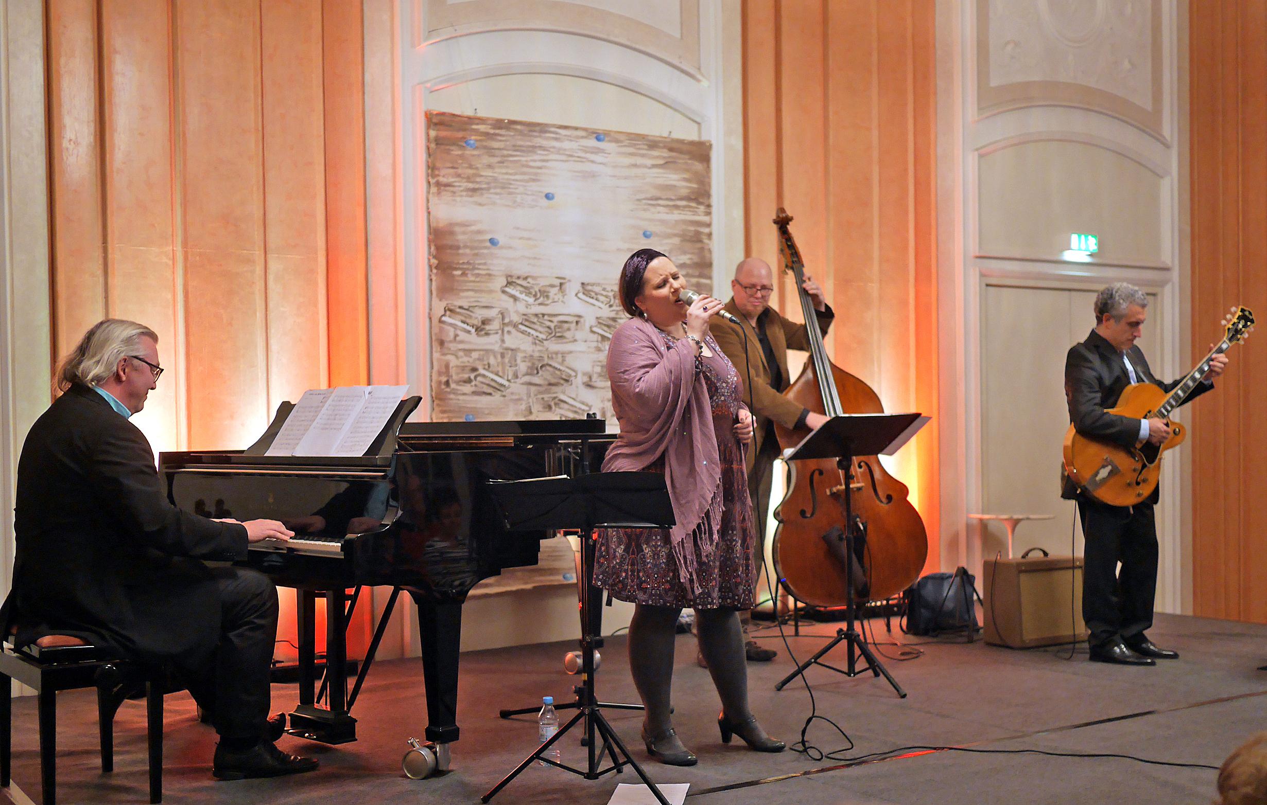 Konzert Schloss Tettnang, Foto Helmut Voith, Januar 2014