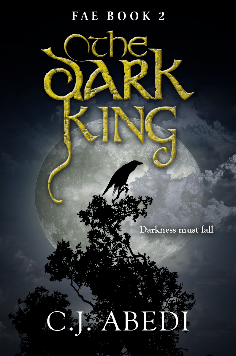 Darkness descends over Roanoke Island in the sequel to the young adult bestseller, FAE.  Devilyn Reilly has crossed over to the sinister world of The Dark Fae, reigning over the realm as its King. He is to fulfill a prophecy--to unite the Light and Dark Fae once and for all, but those who love him now fear that he will never be the same again, that he can no longer be trusted, that every trace of the Light he once had is gone forever.   Caroline Ellis, the final heir of the Light Fae, must learn to survive without the protection of her one true love. She must come to embrace her own strength to evade those in the Dark court who seek her destruction—for the power is within Caroline to use Light to change Fate itself...  Caroline and Devilyn's chemistry is undeniable. Their destiny together inevitable if only they have the will to overcome The Darkness and The Fates.  THE DARK KING, the second installment of the stunning Fae trilogy propels readers into the mystical and magical world of the Light and Dark Fae, where star-crossed love ignites a battle between two powerful kingdoms, one that can consume everything that stands in its path.