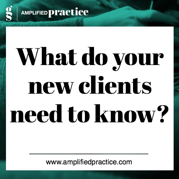 New Therapy Clients| Amplified Practice Authentic Marketing & Business Coaching for Therapists