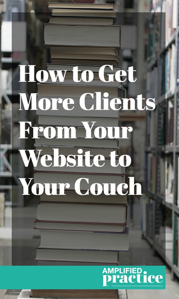 More Counseling Clients on the Couch | Amplified Practice Business Coach for Therapists