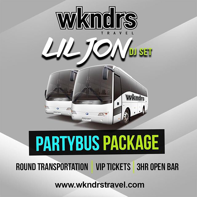 GiveAway Time!  Follow @wkndrstravel for a chance to win (2) tickets to watch @liljon