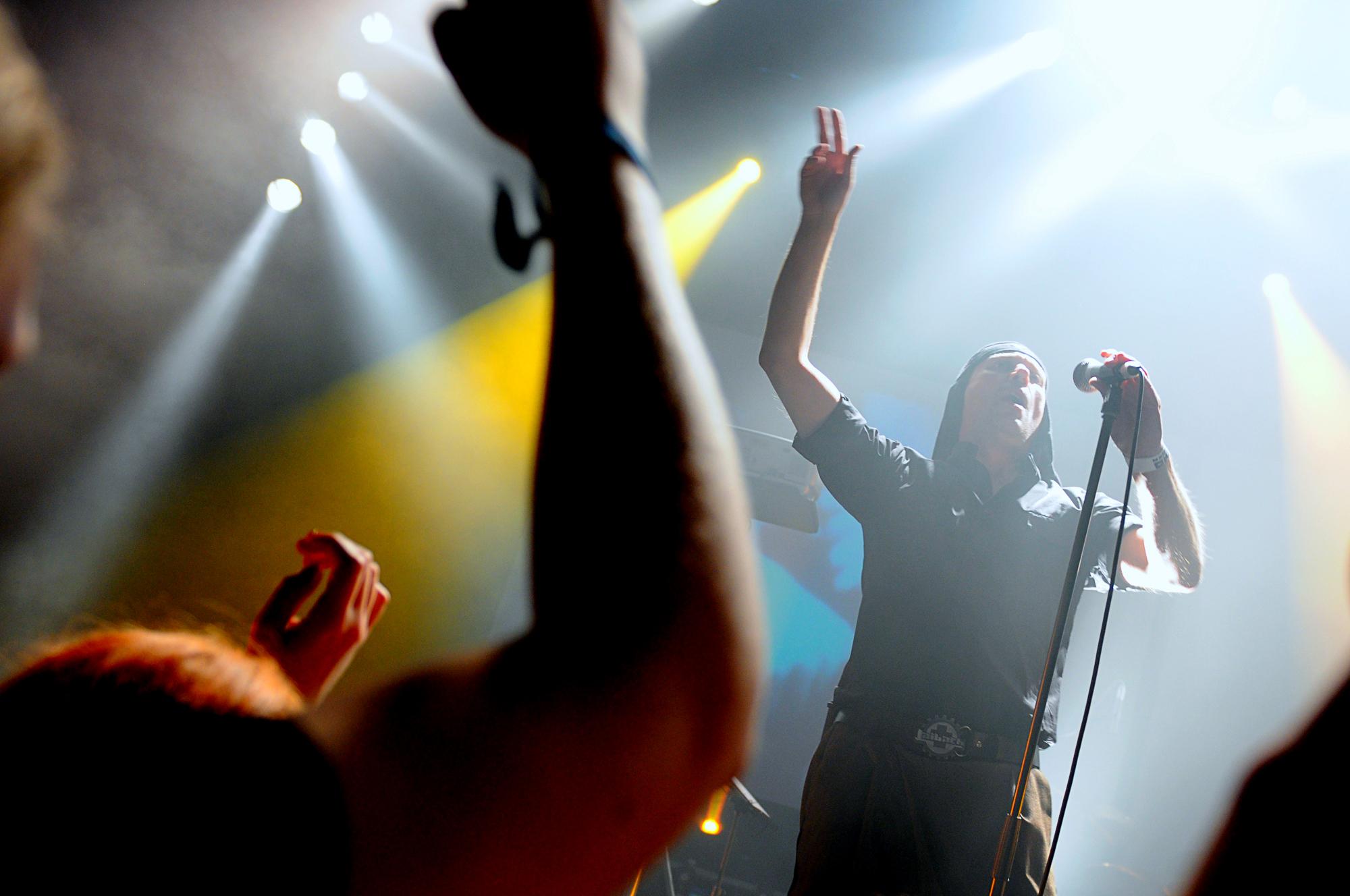 Concert photography Laibach