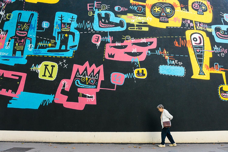 Graffiti art photgraphy Ljubljana Slovenia