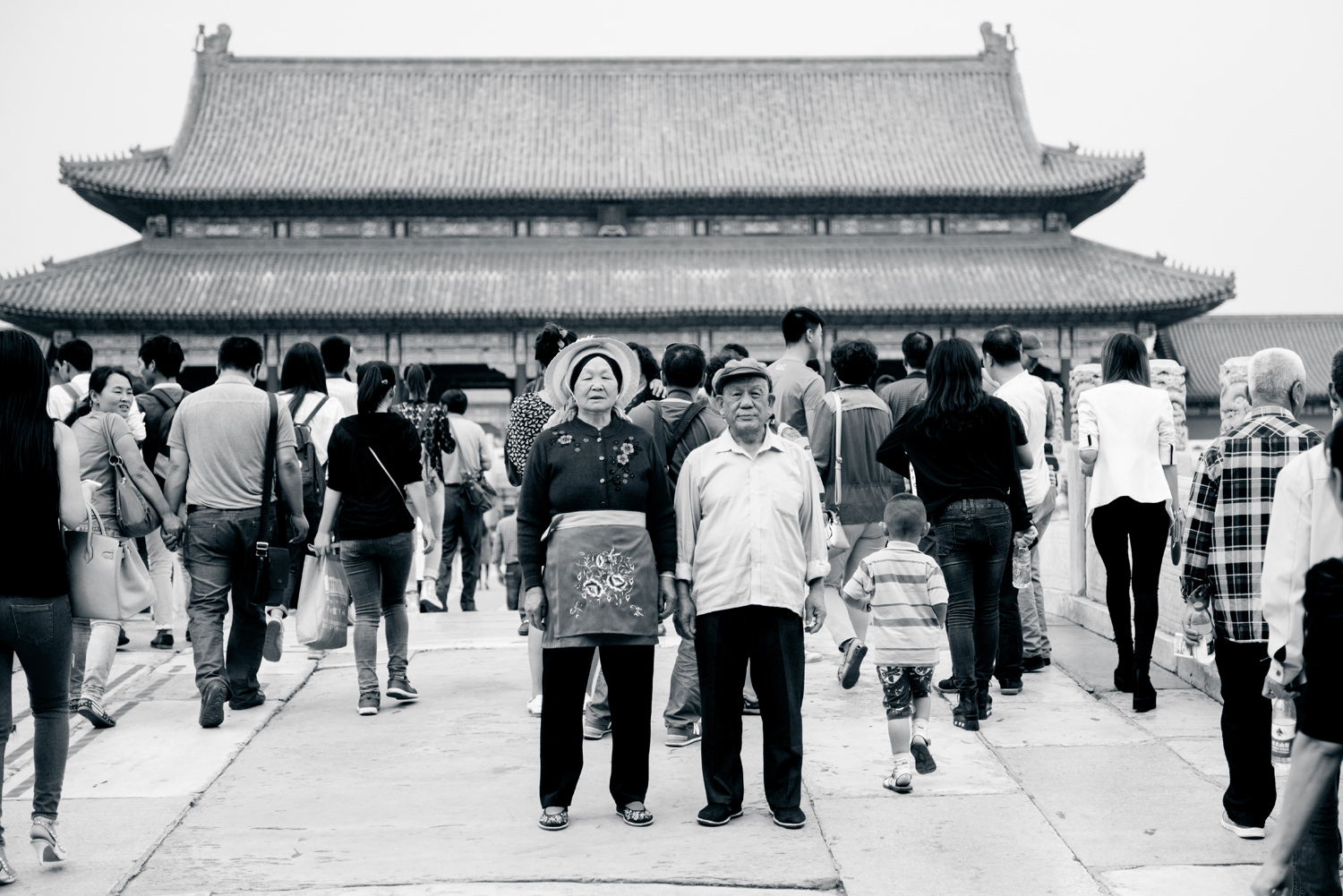 Travel documentary photography Forbidden City China