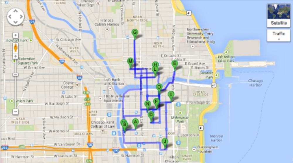 Chicago Loop Map - Social Media Week - Chicago - Socialty