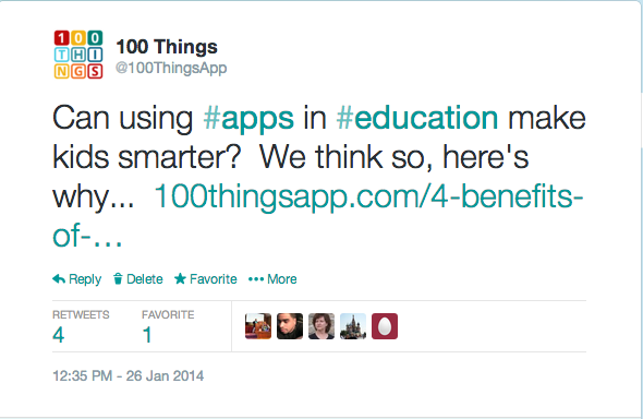 Twitter   100ThingsApp  Can using  apps in  education ....png