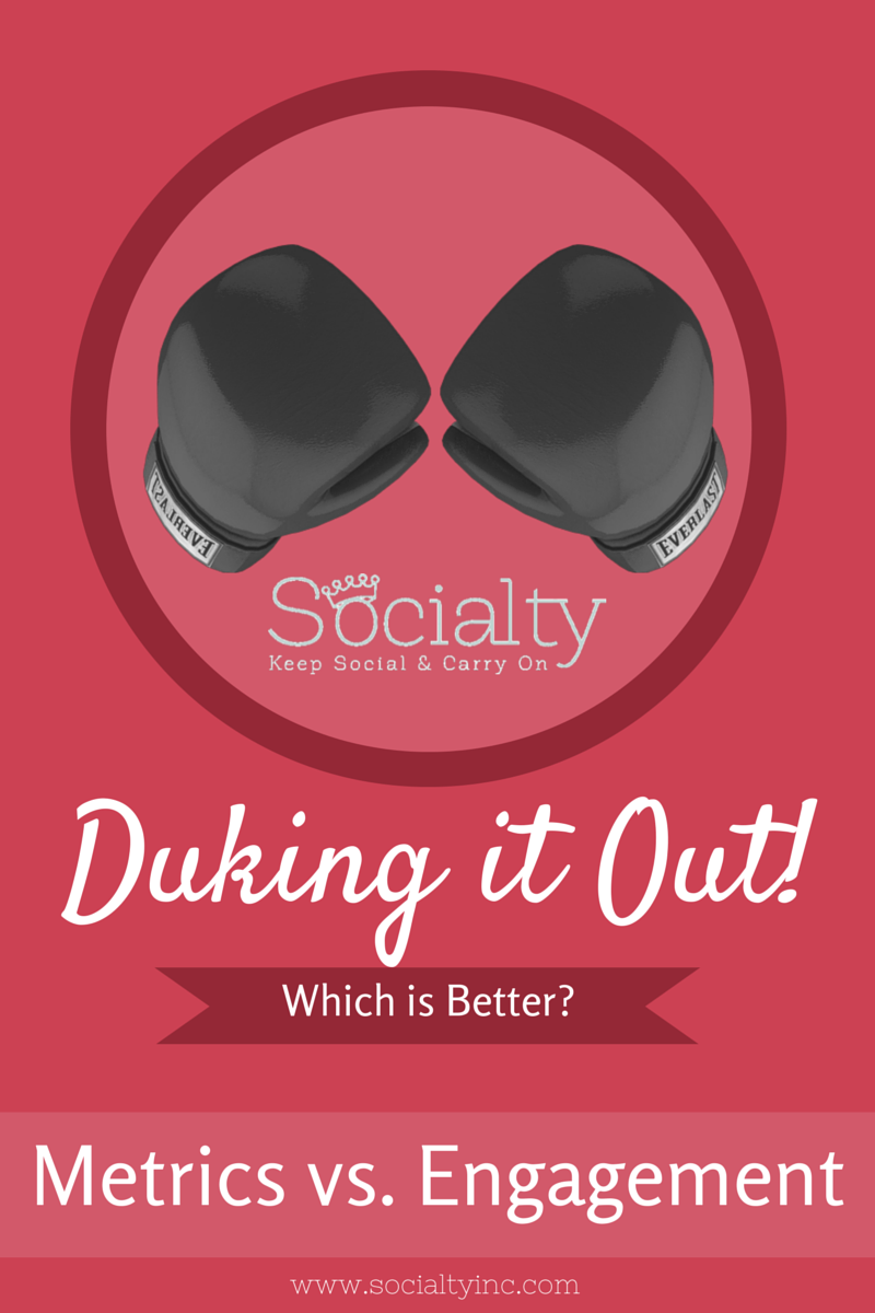 metrics v. engagement socialty