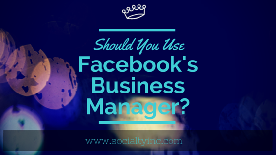 socialty fb biz mgr