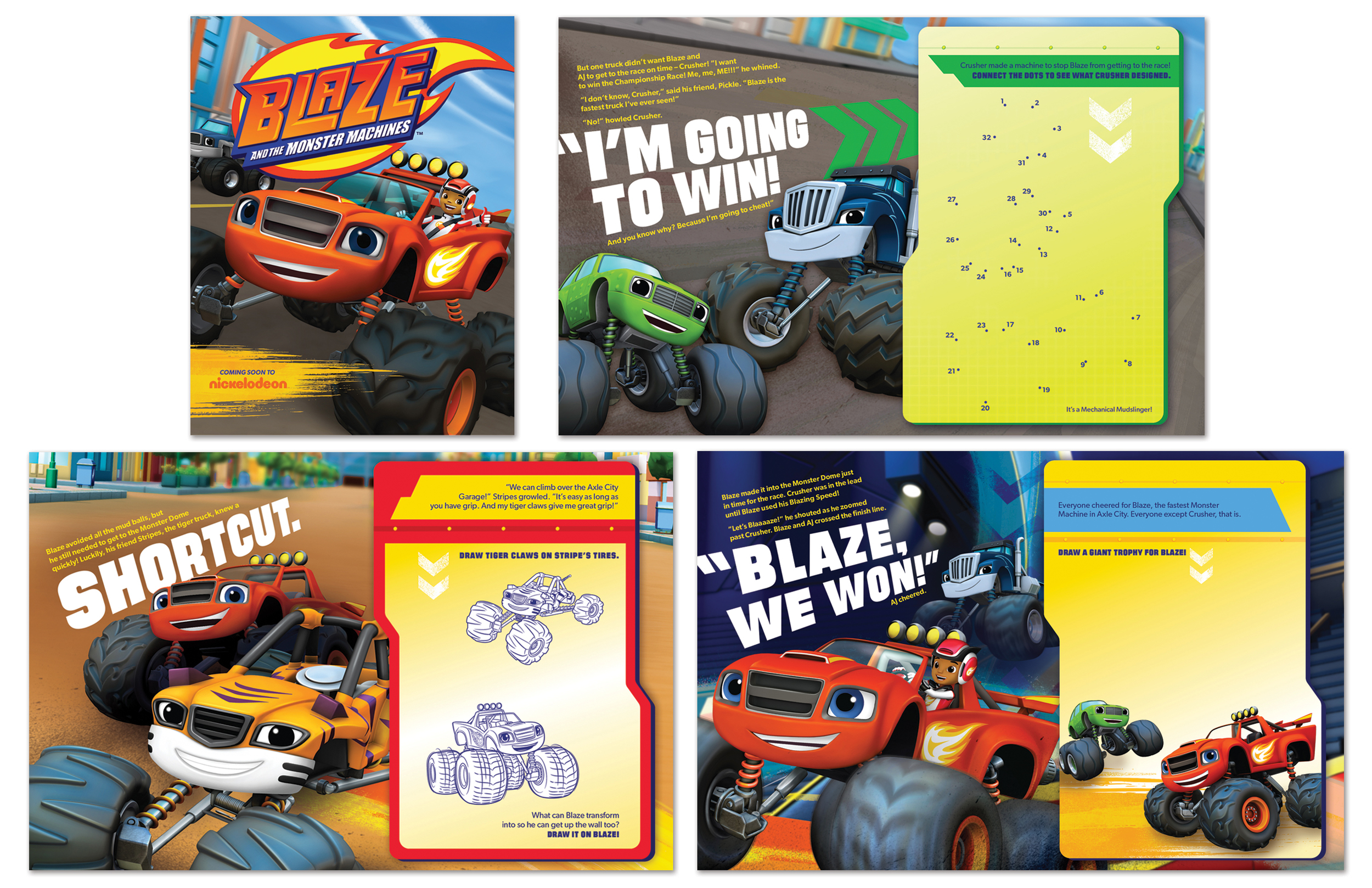 Blaze activity booklet