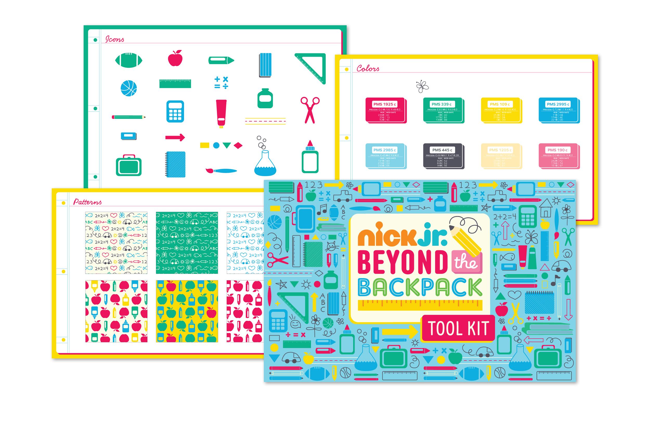 Nick Jr.'s Beyond the Backpack Tool Kit
