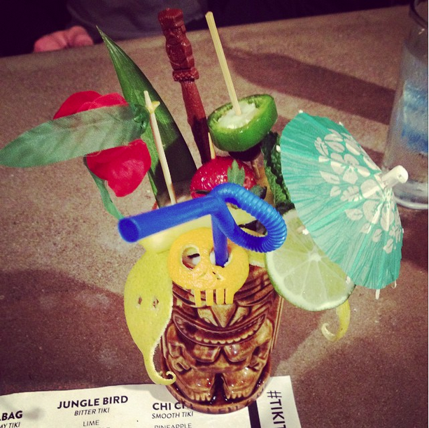 No such thing as too much garnish.