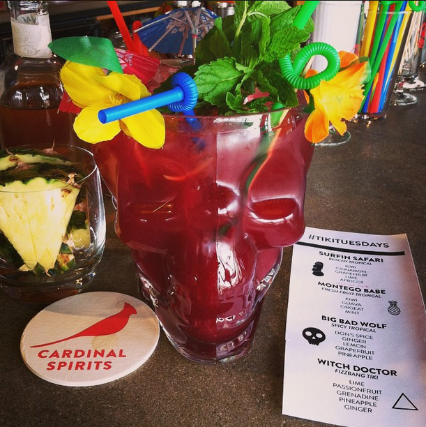 Order punch for the table and Baylee and Chris  will blow your  mind with this cool skull bowl.