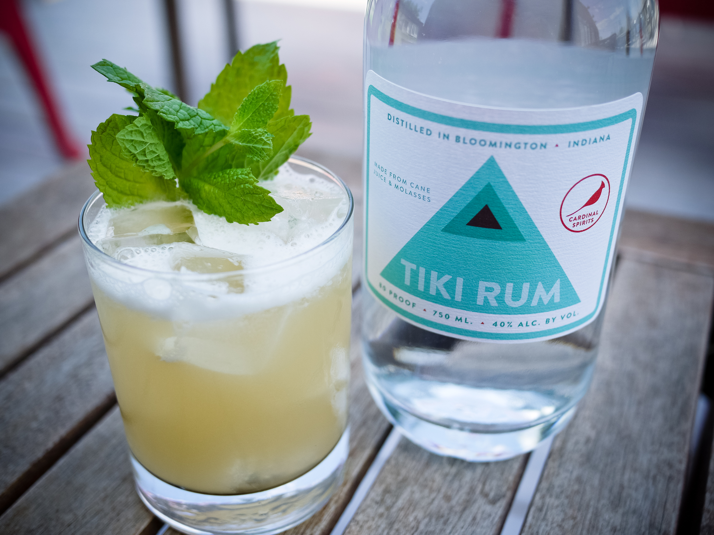 92 Points cocktail made with Tiki Rum