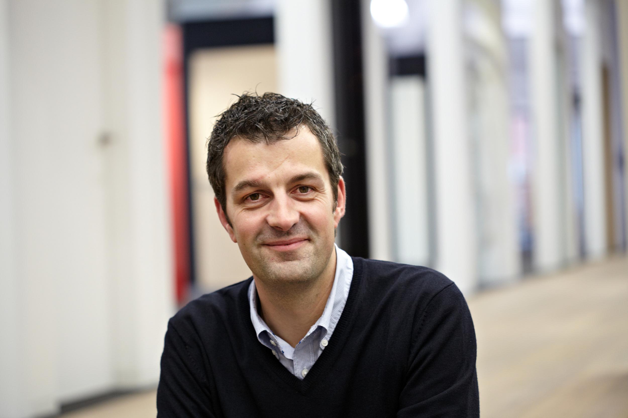 Pete Hoffmann, CEO of Hoffmann Frères in Mersch