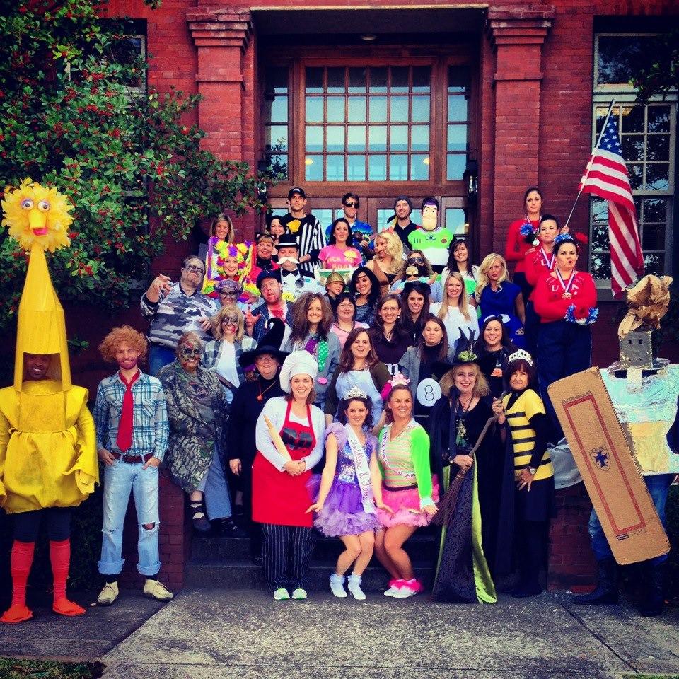 We do Halloween pretty big at Martin - Halloween 2012