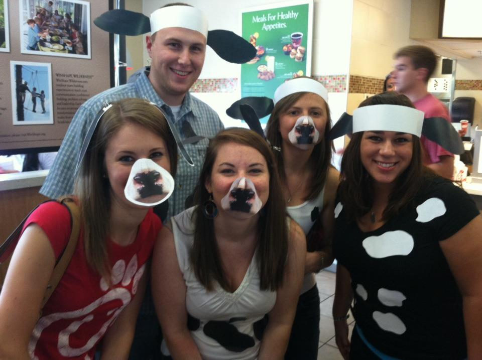 Cow Appreciation Day with these special friends!