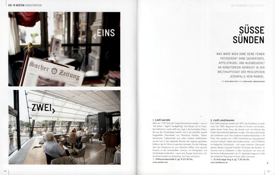 Cafe Sacher/Landtmann - Wienbuch