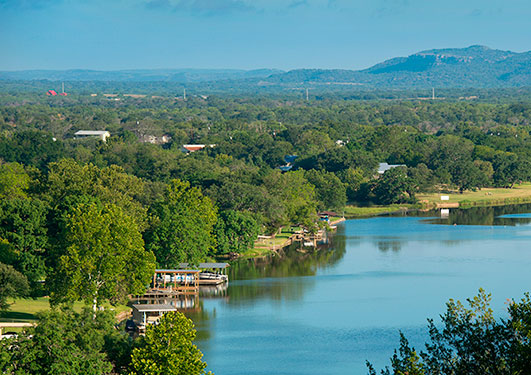 Texas Hill Country and Lake LBJ Scenic Views at Trails of Horseshoe Bay