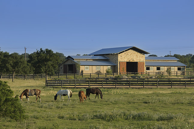 Equestrain Center at the Trails designed by Dick Clark