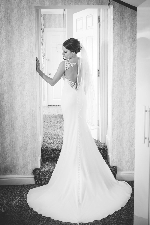 dress from laura may bridal