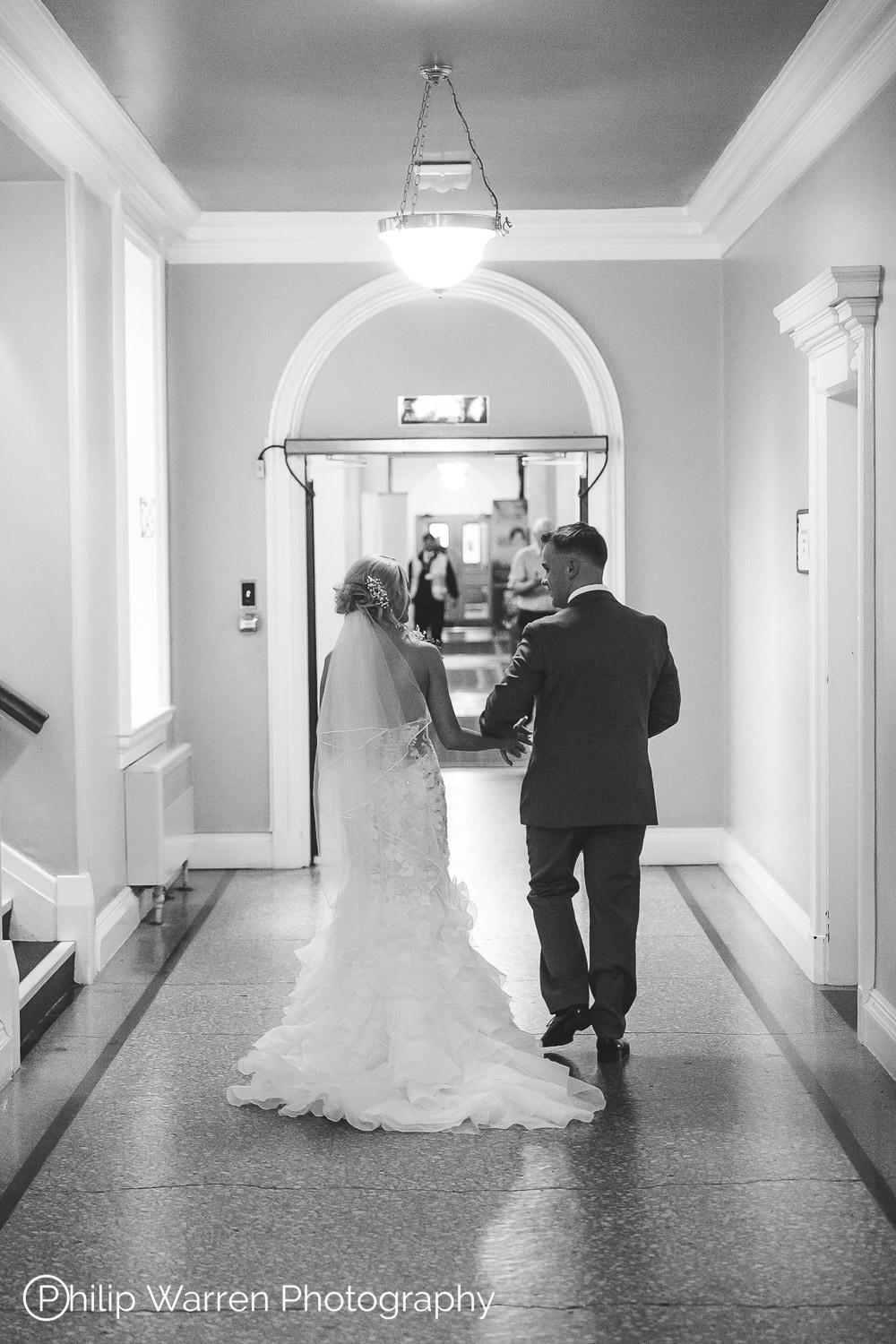 just married in cardiff city hall