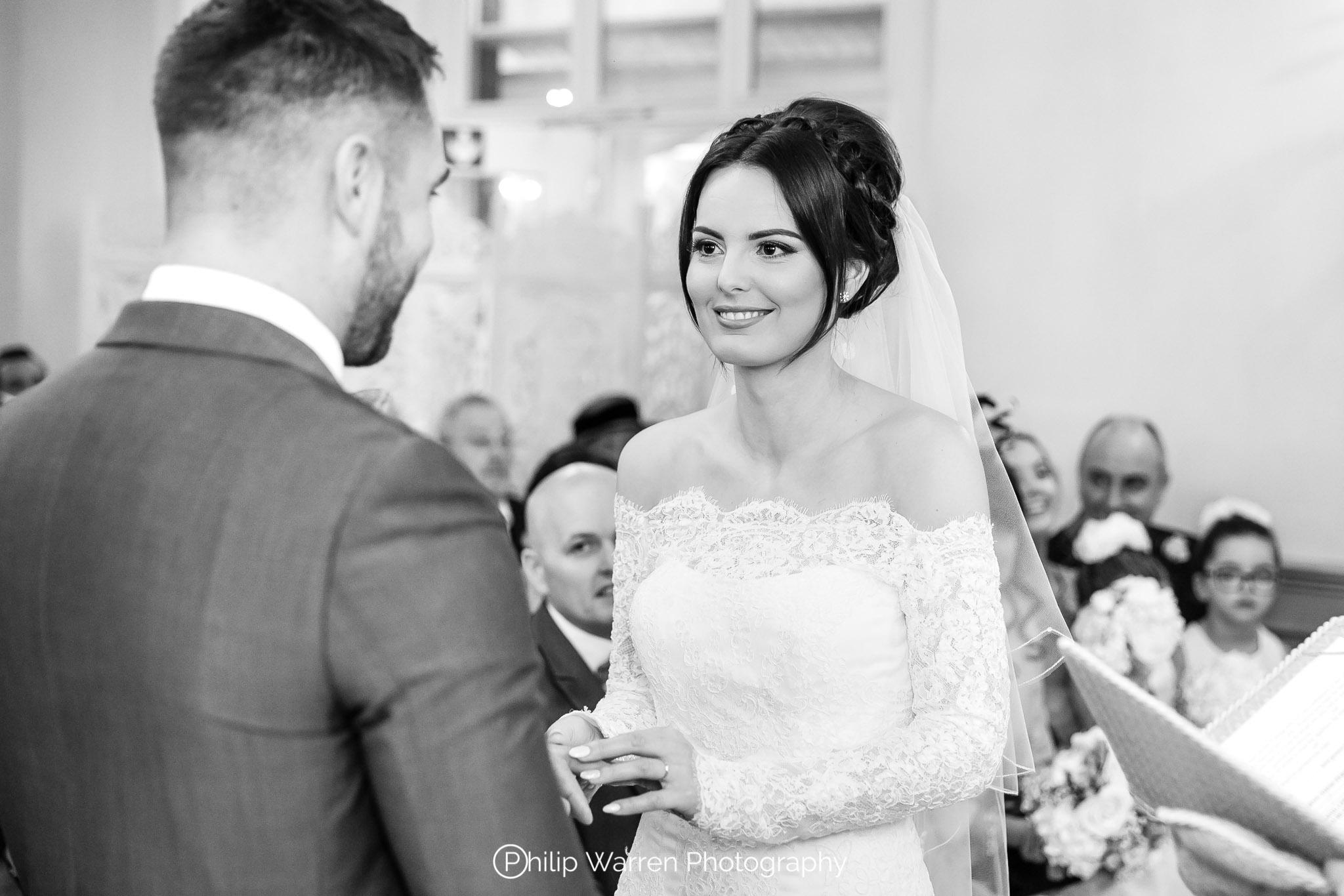Wedding Ceremony at Bryngarw House