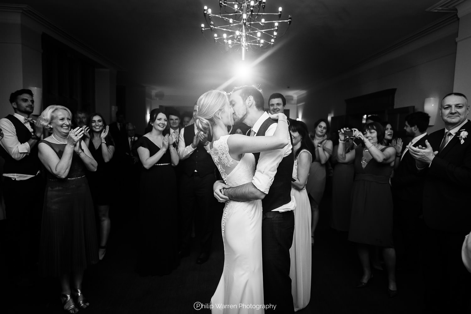 first dance photo at the wedding