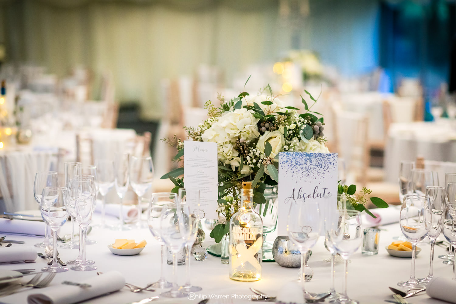 table centres at fairyhill
