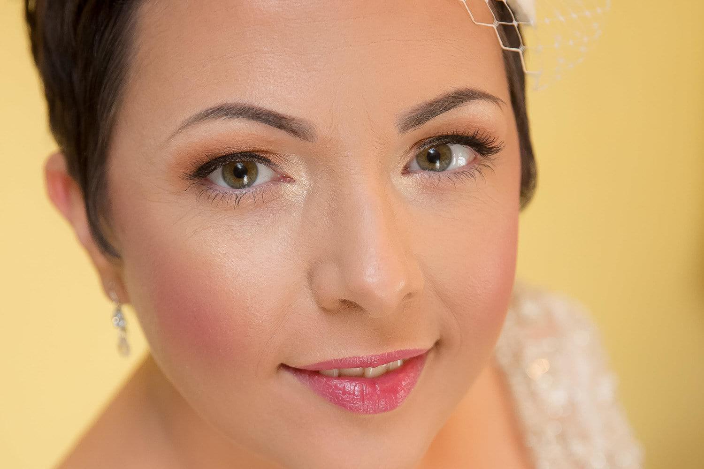 bride portrait at pencoed house wedding cardiff