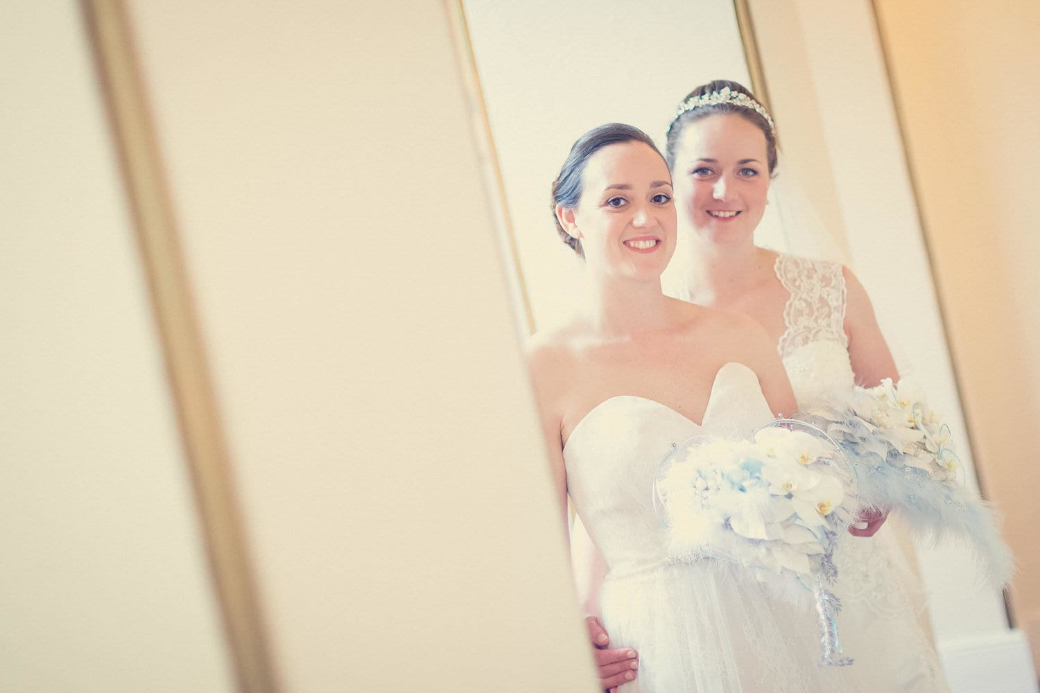 two brides together