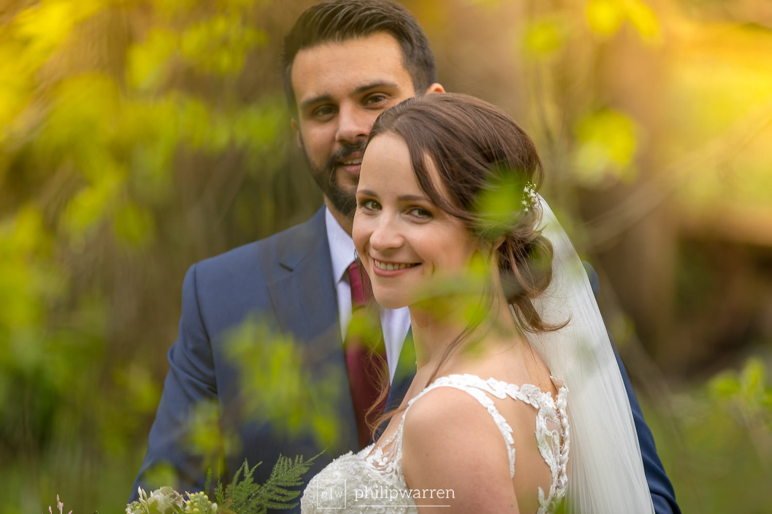 married couple wedding photos at pencoed house