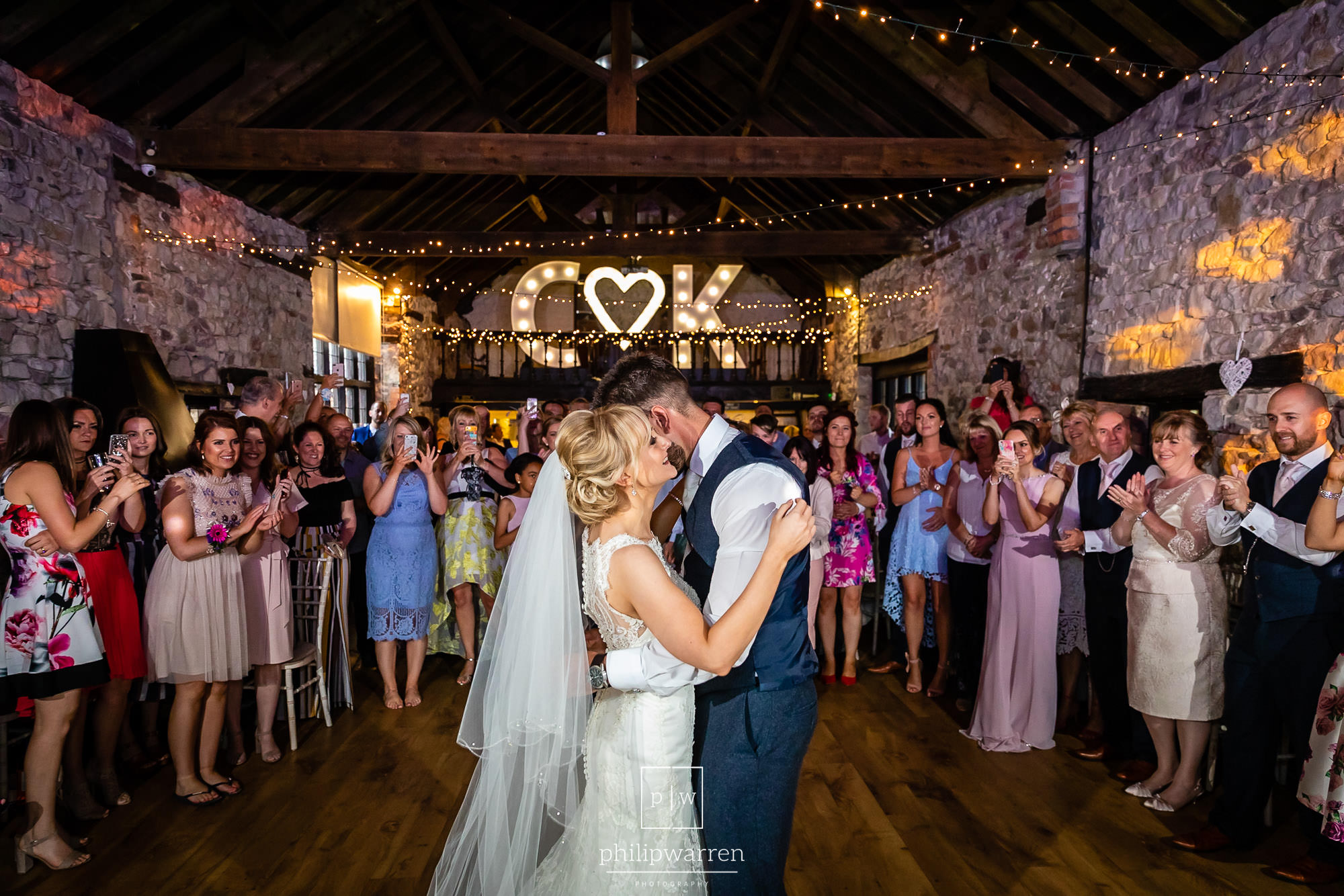first dance photo in pencoed house estate