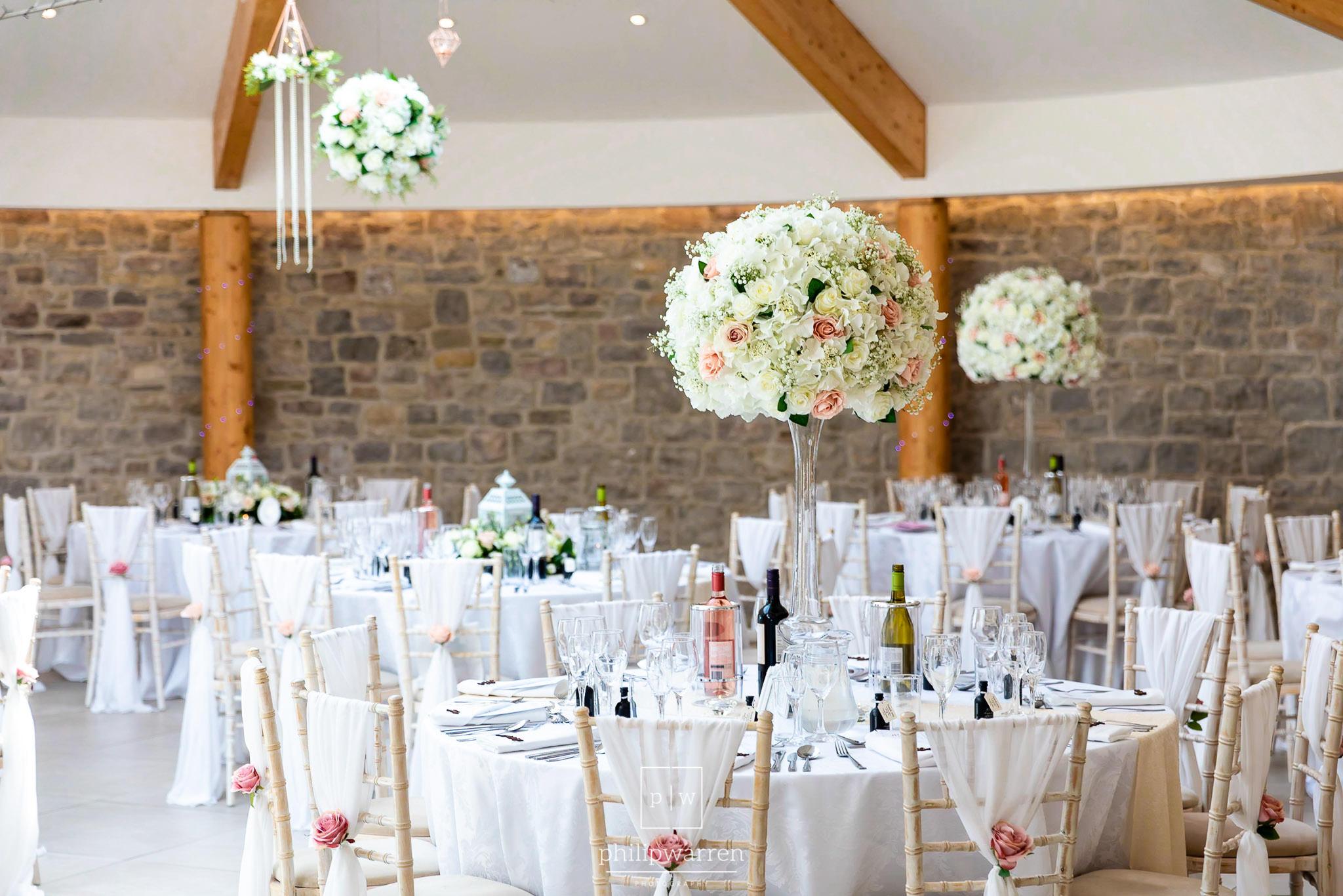 wedding reception in st tewdrics