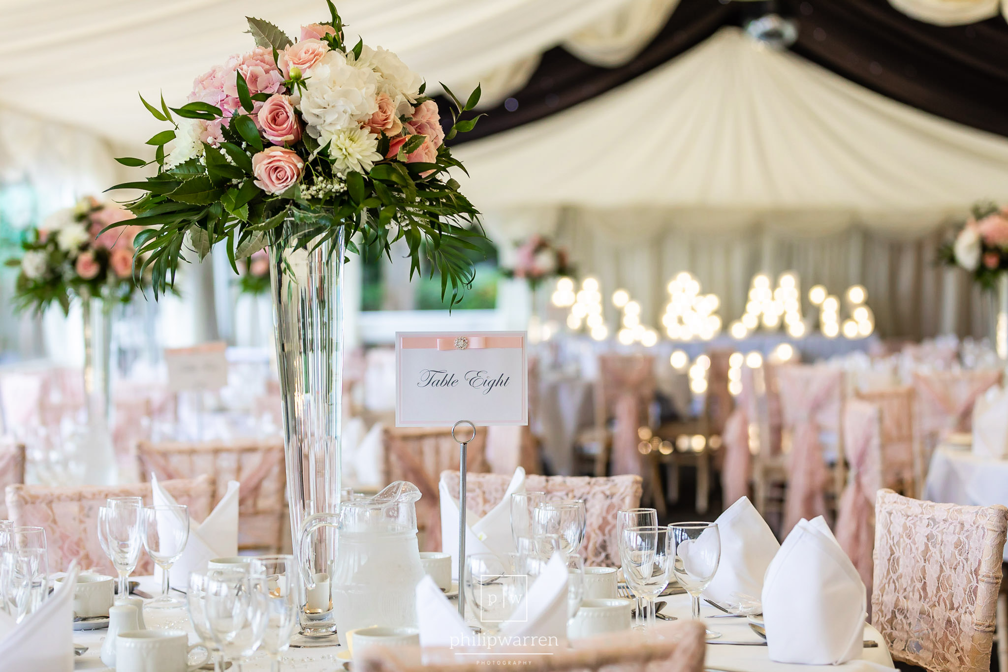 marquee at new house country hotel cardiff