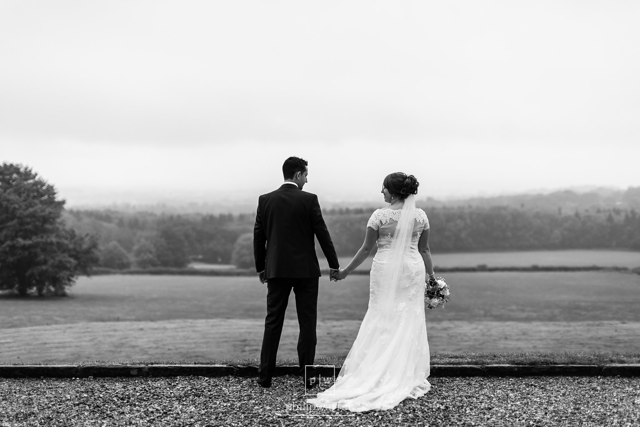 wedding photos over looking cardiff at new house hotel