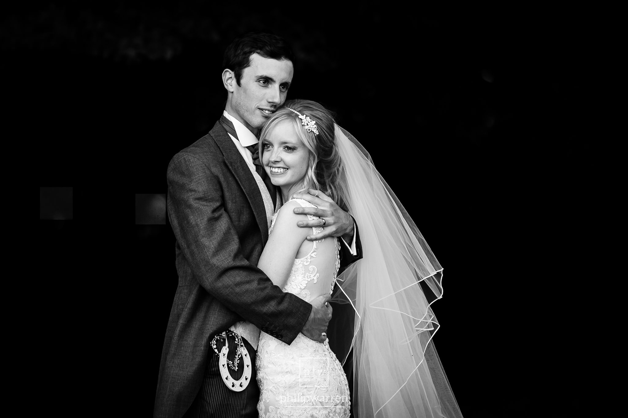 portrait of the bride and groom at court colman