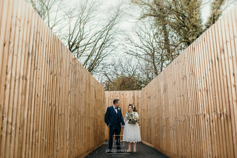 wedding photos taken at de courceys manor