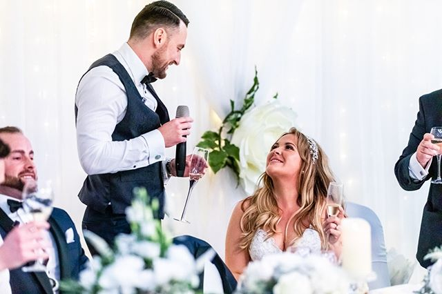 Find someone who looks at you like this...⁣ .⁣ .⁣ .⁣ .⁣ #wedding #party #weddingparty #celebration #bride #groom #bridesmaids #happy #happiness #unforgettable #love #forever #weddingdress #weddinggown #weddingcake #family #smiles #together #ceremony #romance #marriage #weddingday #flowers #celebrate #instawed #instawedding #party #congrats #congratulations