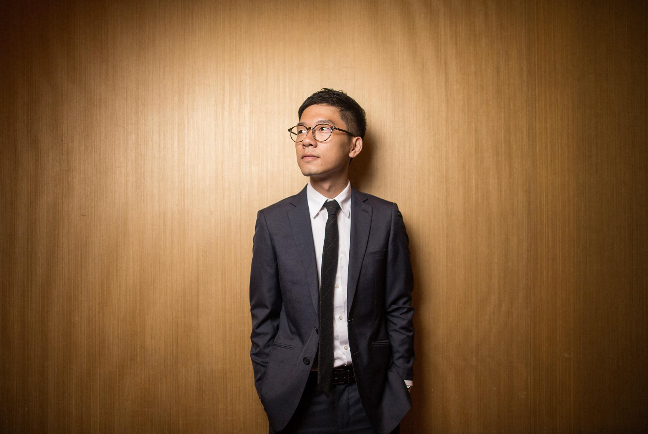 Nathan Law  Hong Kong's lawmaker