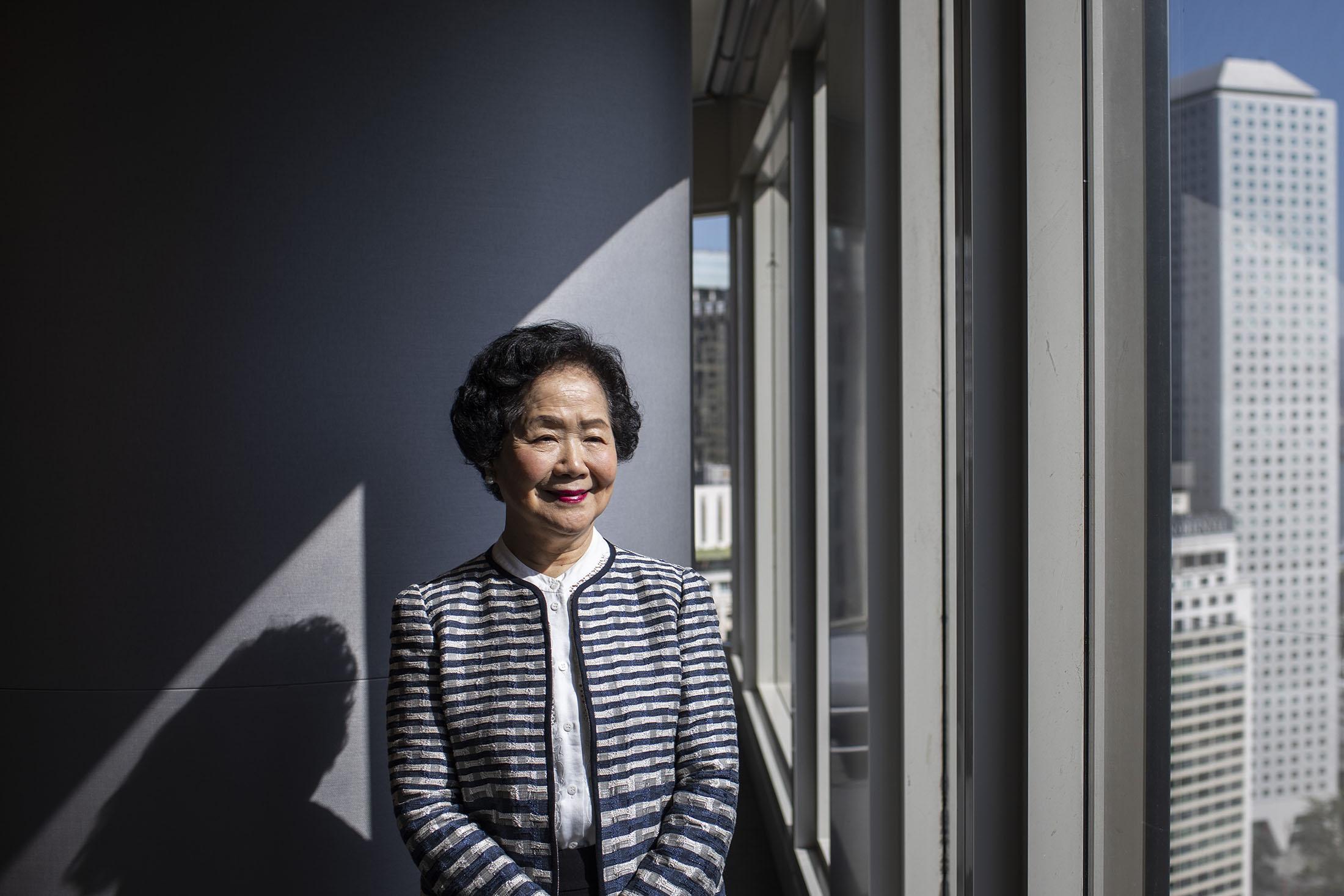 Anson Chan  Ex-Hong Kong's chief secretary