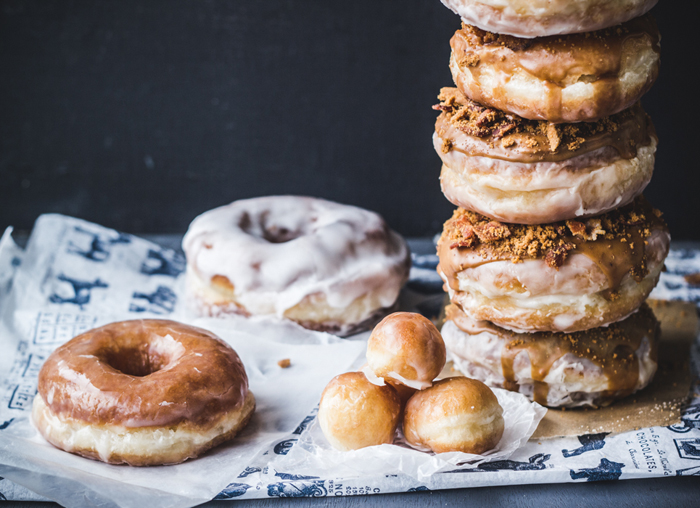 Doughnuts! You guys, these babies are not the same gluten free http://www.topwithcinnamon.com/2013/04/how-to-make-doughnuts-with-video-and-coffee-biscoff-bacon-doughnuts.html