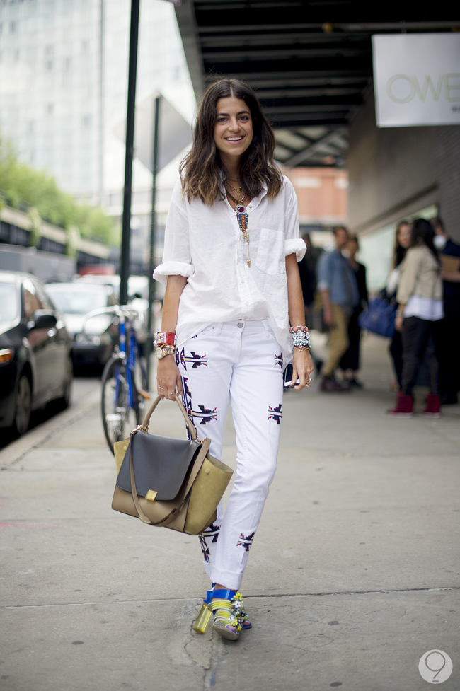 The Man Repeller herself, Leandra Medine. (Photo from The Wiseling Blog)